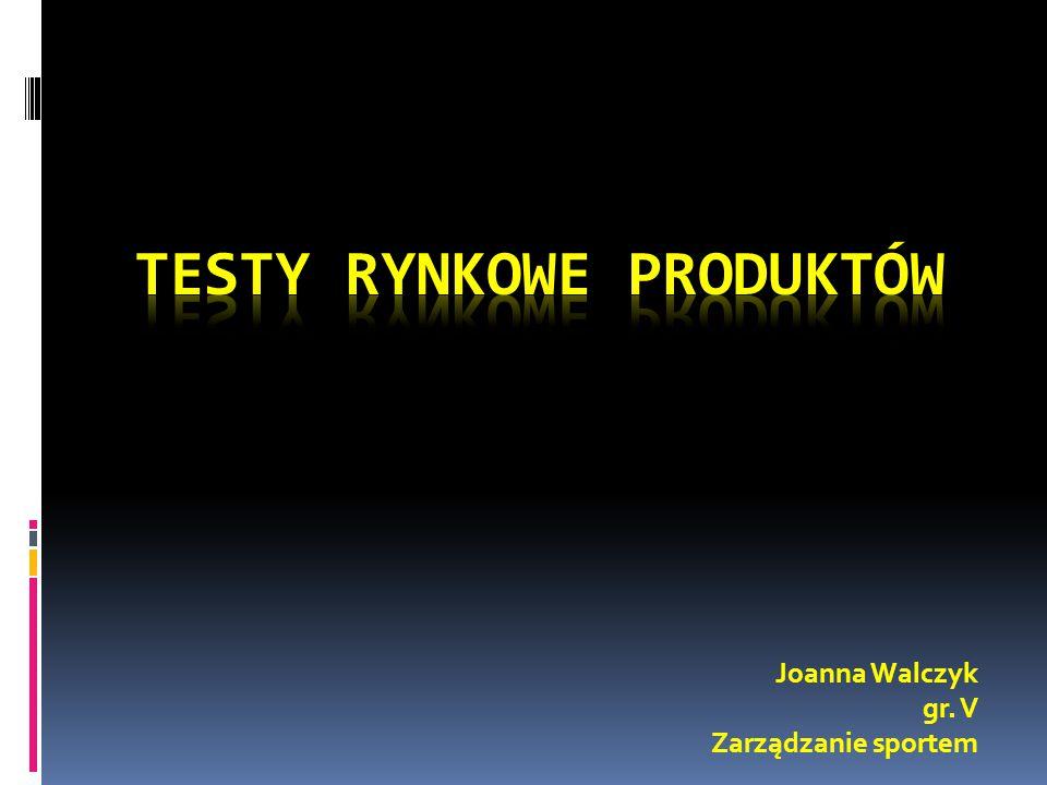 Testy Rynkowe Produktów