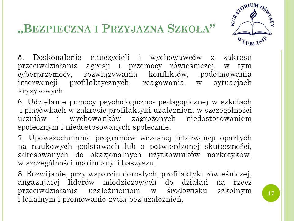"""""""Bezpieczna i Przyjazna Szkoła"""