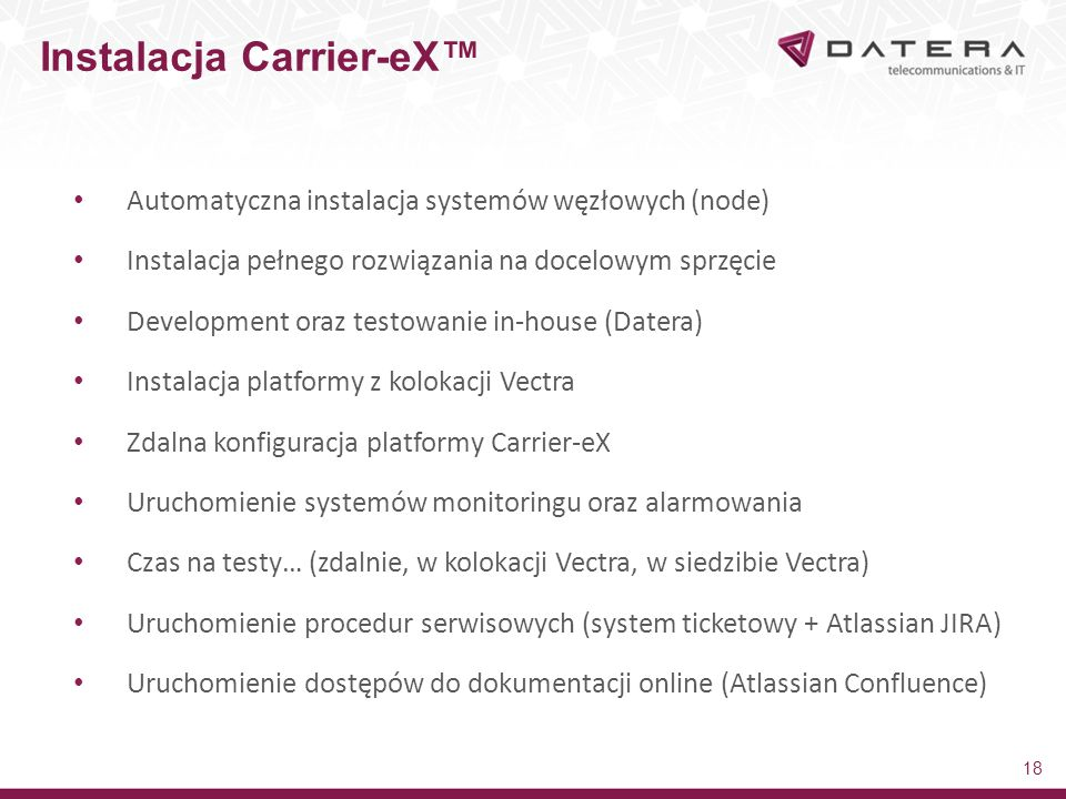 Instalacja Carrier-eX™