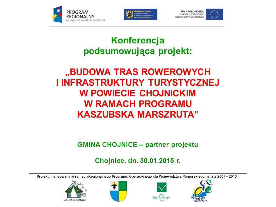 """Konferencja podsumowująca projekt: """"Budowa tras rowerowych"""
