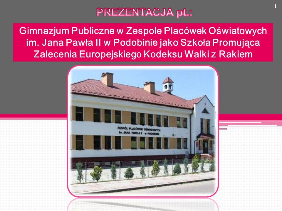 Gimnazjum Publiczne w Zespole Placówek Oświatowych