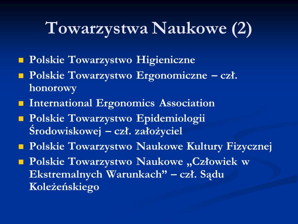 Towarzystwa Naukowe (2)