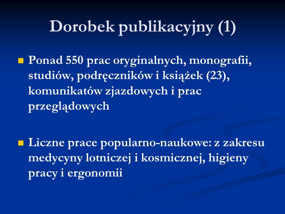 Dorobek publikacyjny (1)