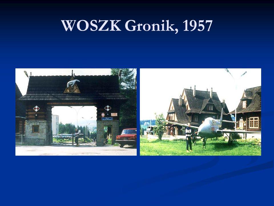 WOSZK Gronik, 1957