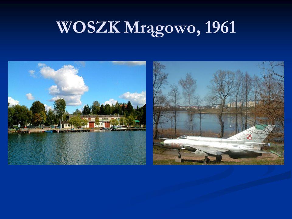 WOSZK Mrągowo, 1961