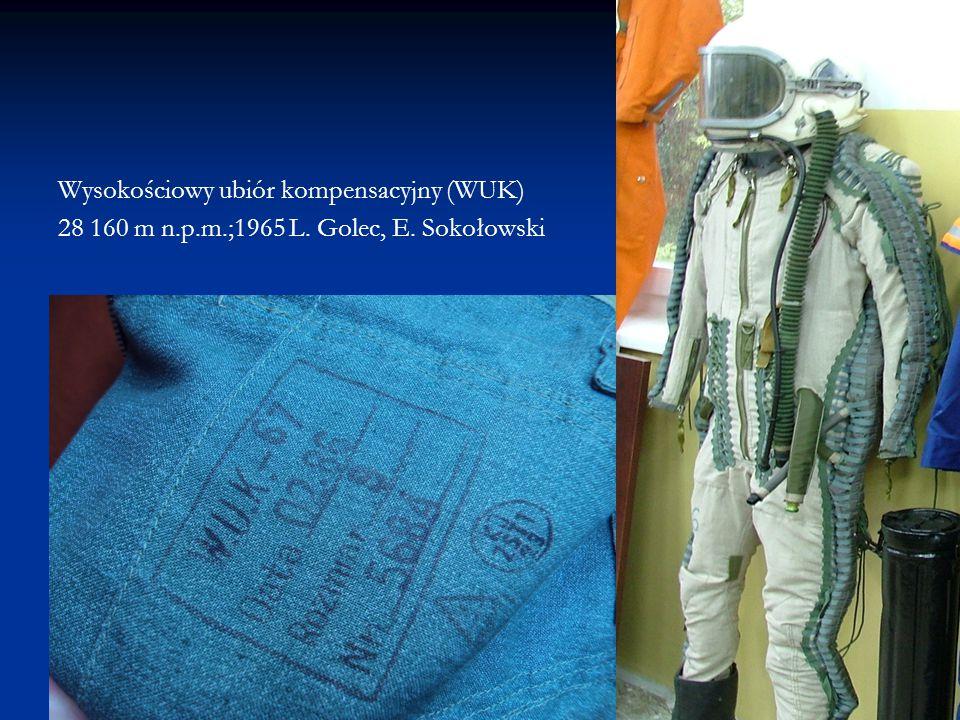 Wysokościowy ubiór kompensacyjny (WUK)