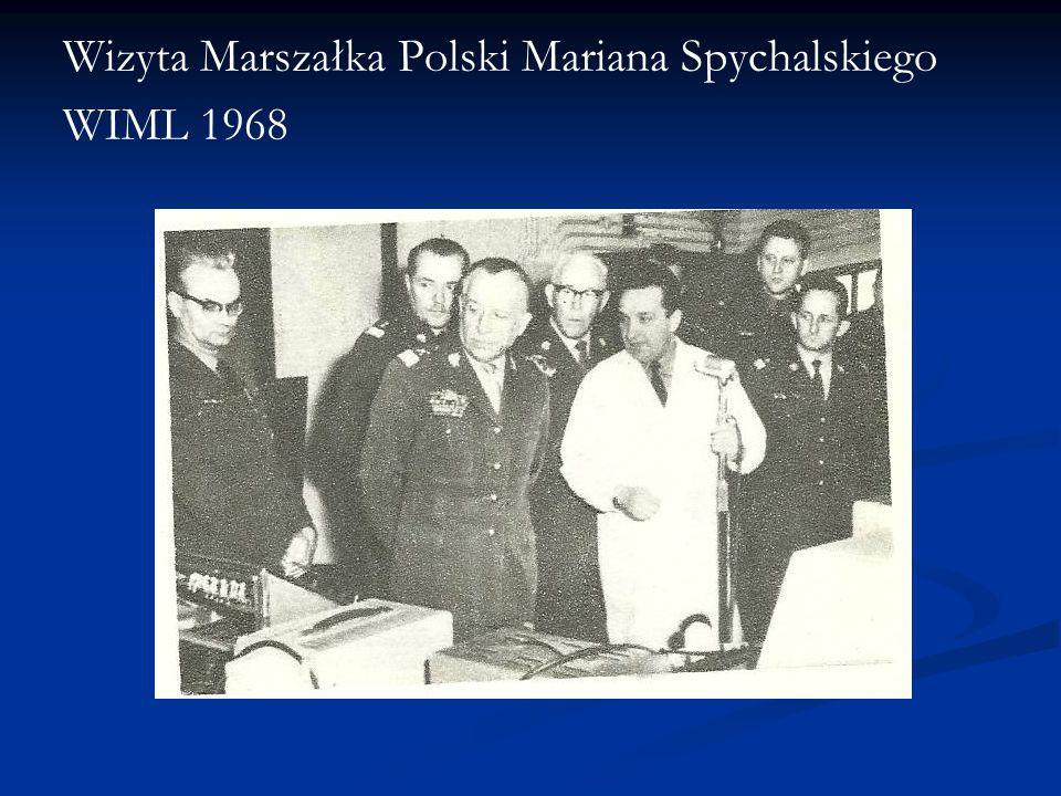 Wizyta Marszałka Polski Mariana Spychalskiego
