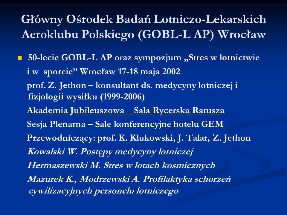 Główny Ośrodek Badań Lotniczo-Lekarskich Aeroklubu Polskiego (GOBL-L AP) Wrocław