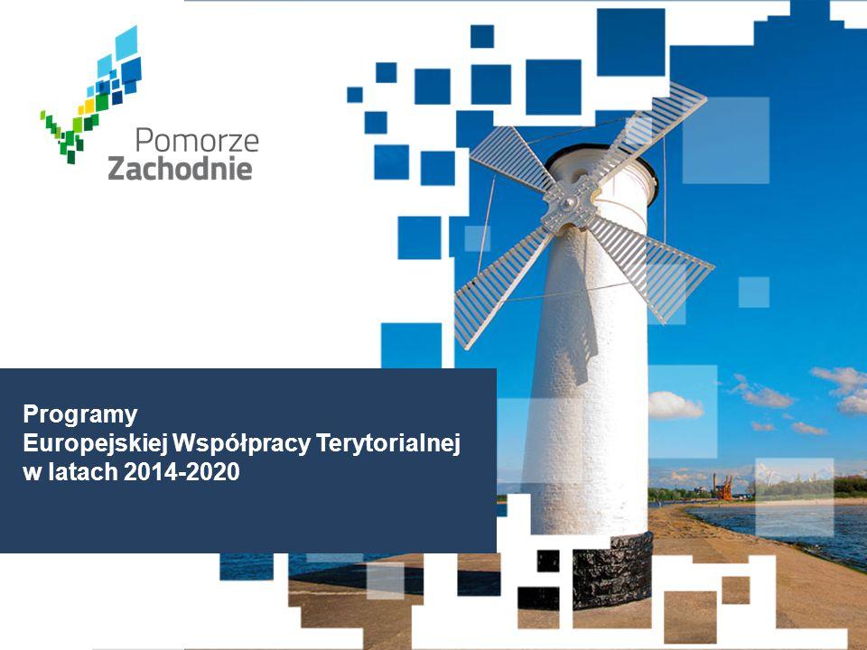 Programy Europejskiej Współpracy Terytorialnej w latach 2014-2020