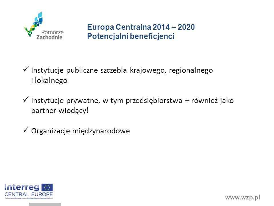 Instytucje publiczne szczebla krajowego, regionalnego i lokalnego
