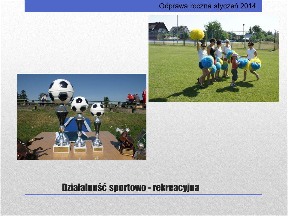 Działalność sportowo - rekreacyjna