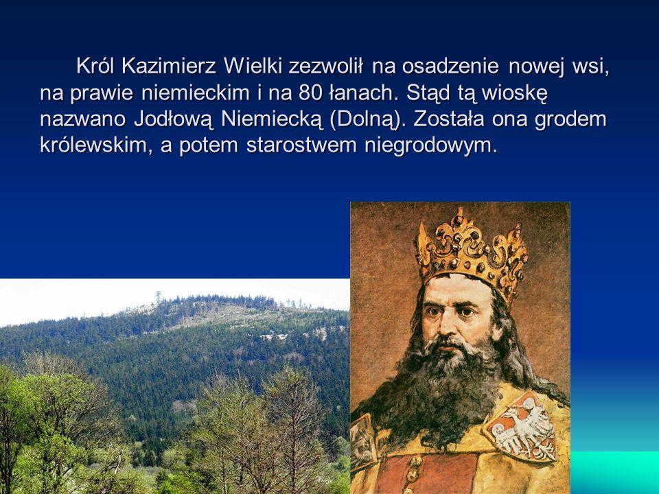 Król Kazimierz Wielki zezwolił na osadzenie nowej wsi, na prawie niemieckim i na 80 łanach.