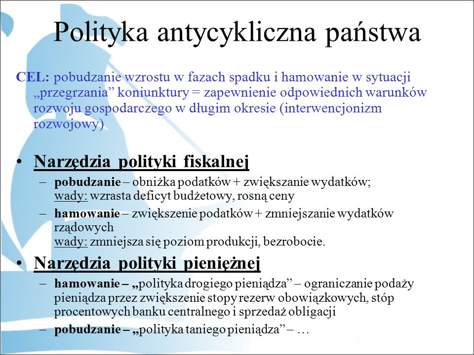 Polityka antycykliczna państwa