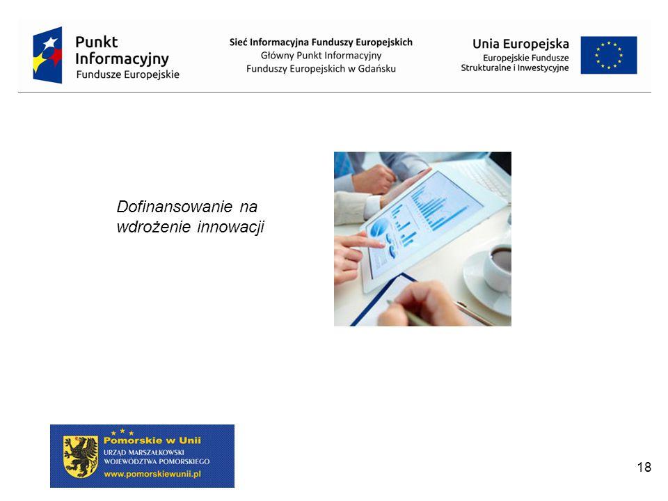 Dofinansowanie na wdrożenie innowacji