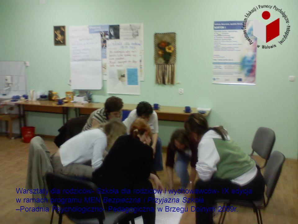 Warsztaty dla rodziców- Szkoła dla rodziców i wychowawców- IX edycja