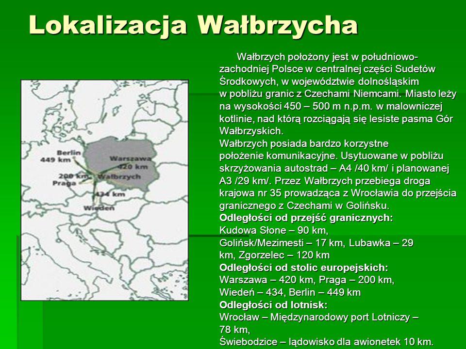Lokalizacja Wałbrzycha