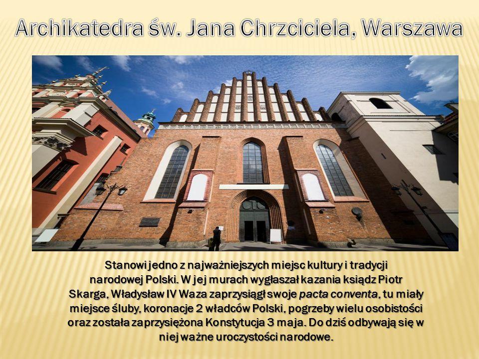 Archikatedra św. Jana Chrzciciela, Warszawa