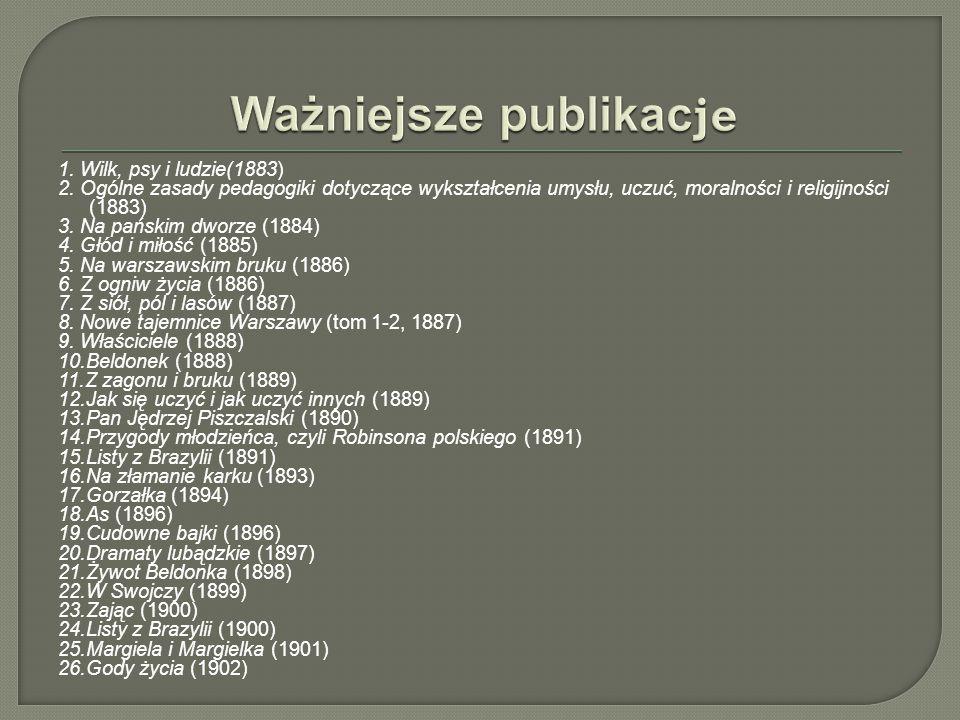 Ważniejsze publikacje