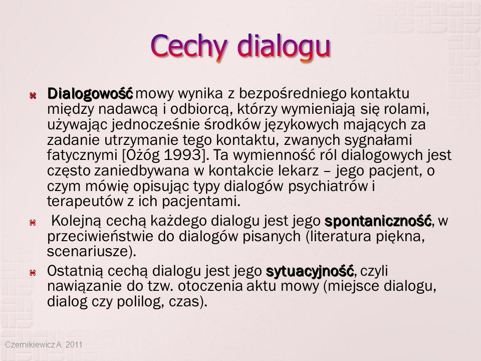 Cechy dialogu