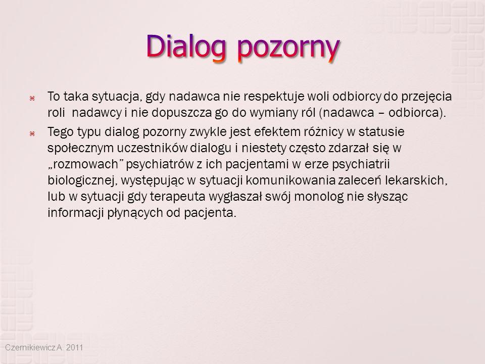 Dialog pozorny