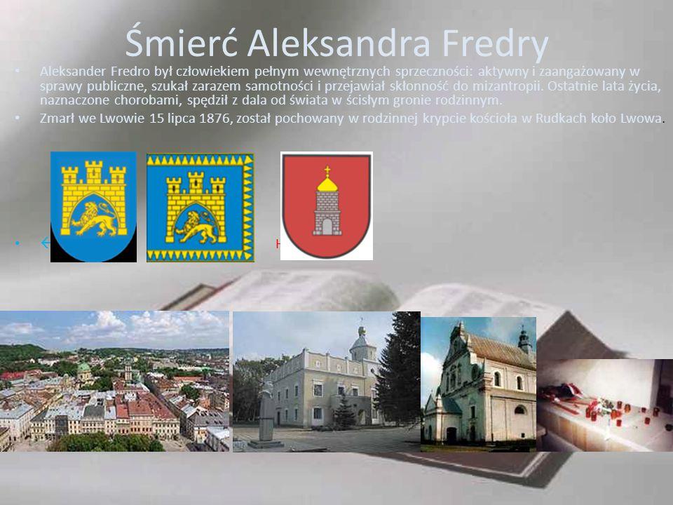 Śmierć Aleksandra Fredry