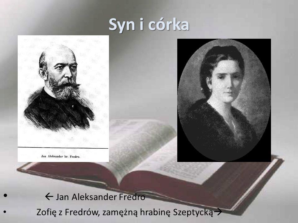 Syn i córka  Jan Aleksander Fredro