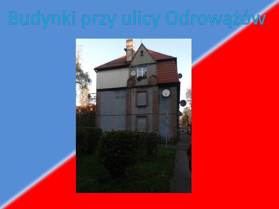 Budynki przy ulicy Odrowążów