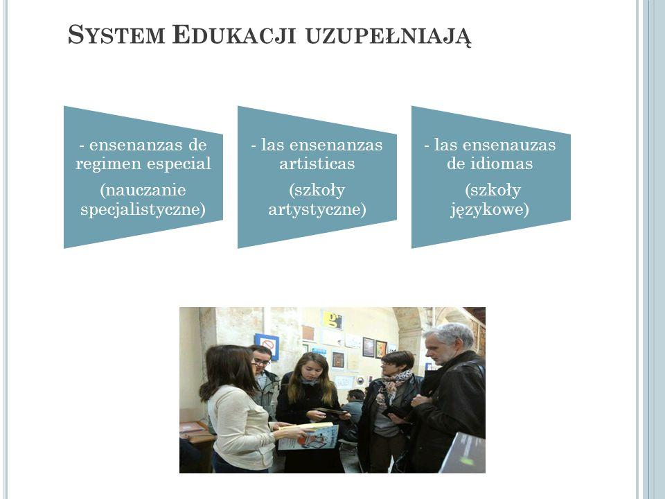 System Edukacji uzupełniają