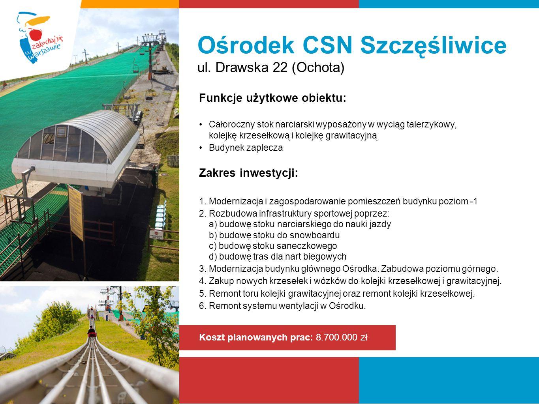 Ośrodek CSN Szczęśliwice