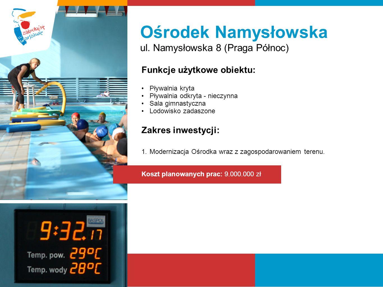 Ośrodek Namysłowska ul. Namysłowska 8 (Praga Północ)