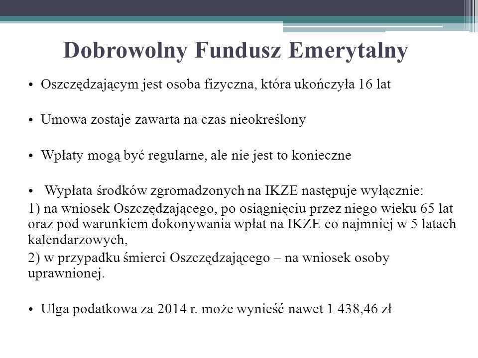 Dobrowolny Fundusz Emerytalny