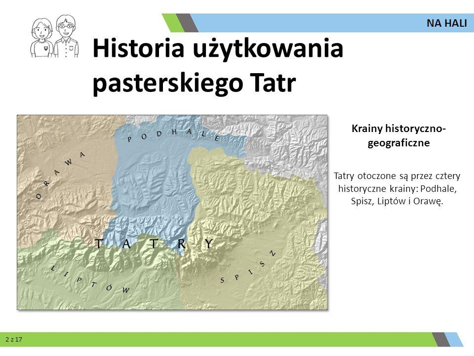 Krainy historyczno- geograficzne