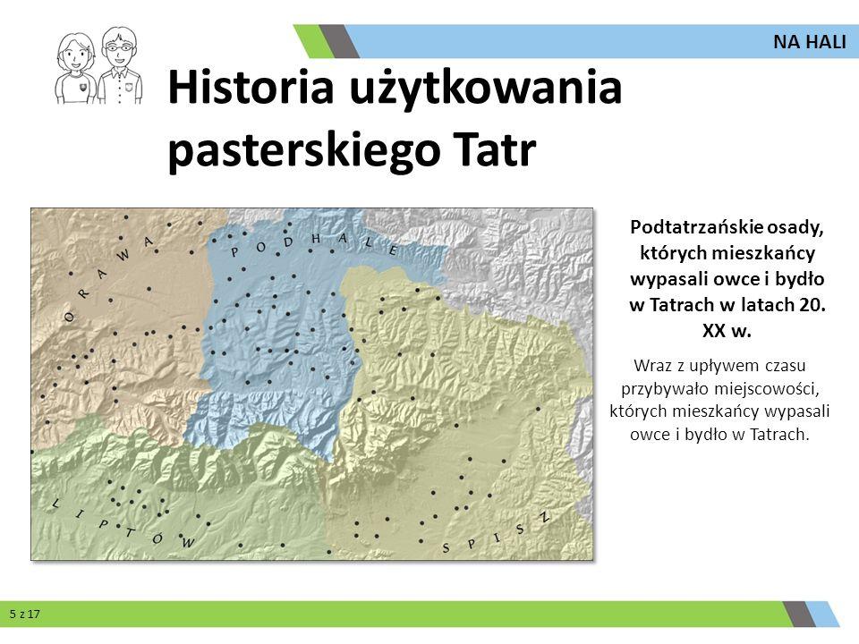 Historia użytkowania pasterskiego Tatr