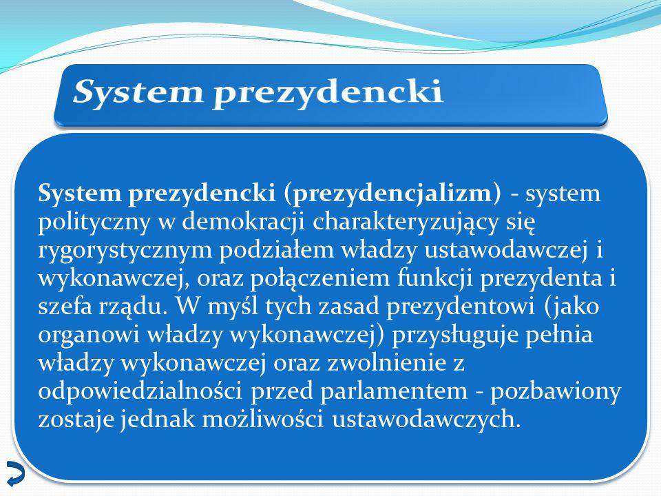 System prezydencki