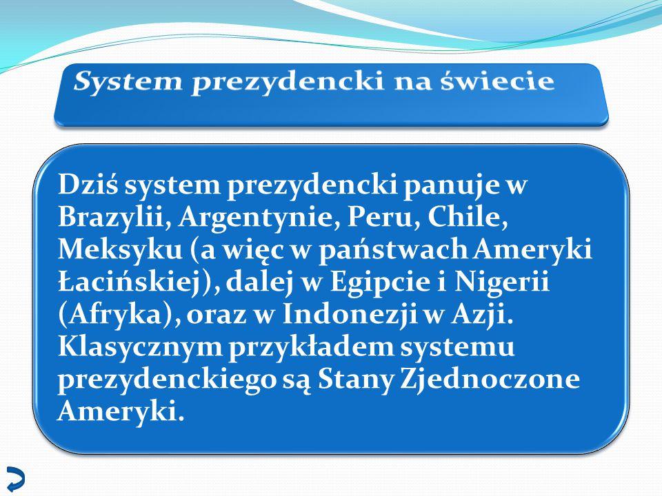 System prezydencki na świecie