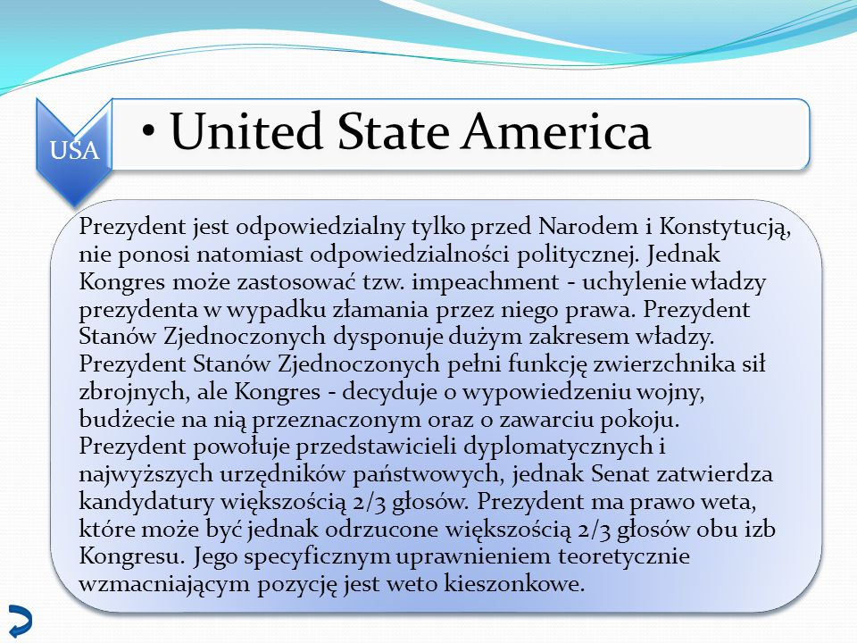 USA United State America.