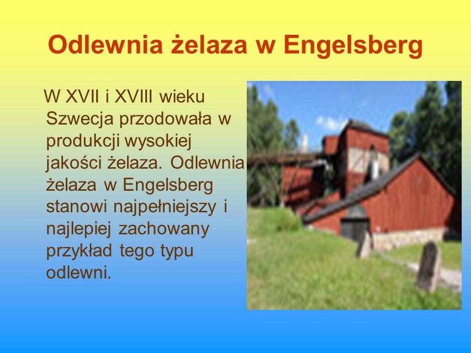 Odlewnia żelaza w Engelsberg