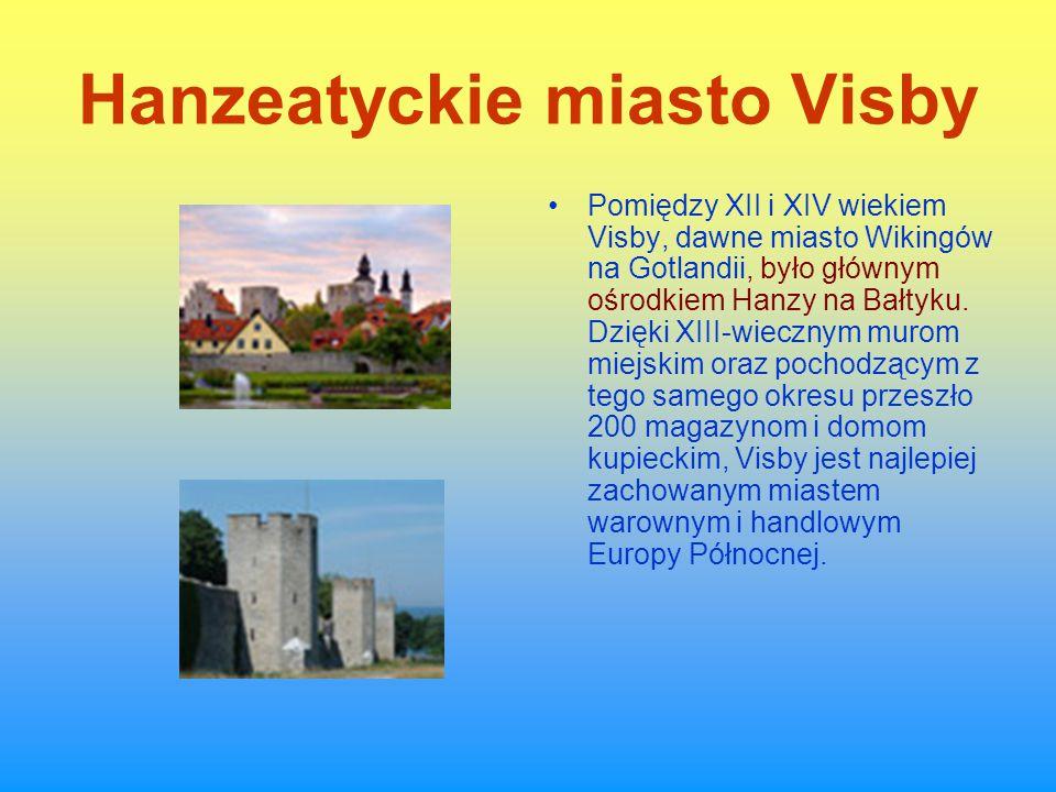 Hanzeatyckie miasto Visby