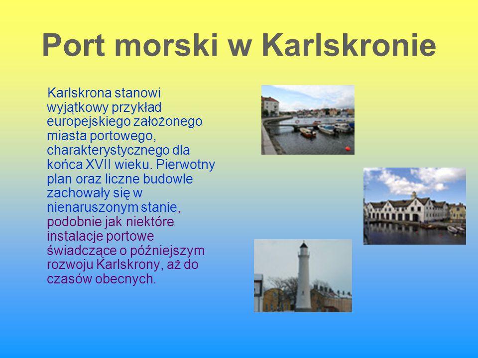 Port morski w Karlskronie