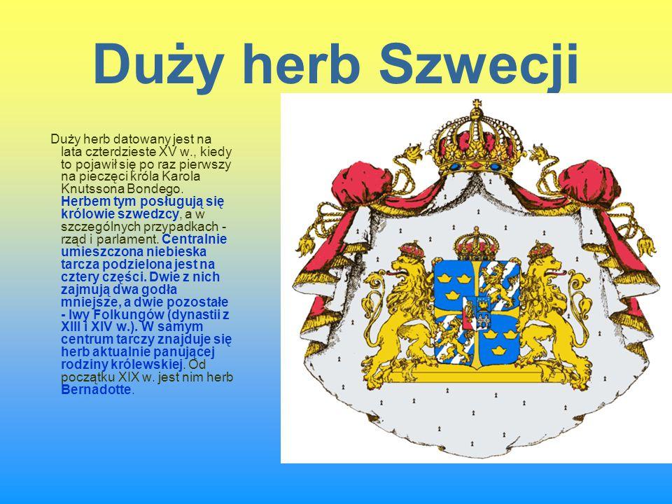 Duży herb Szwecji