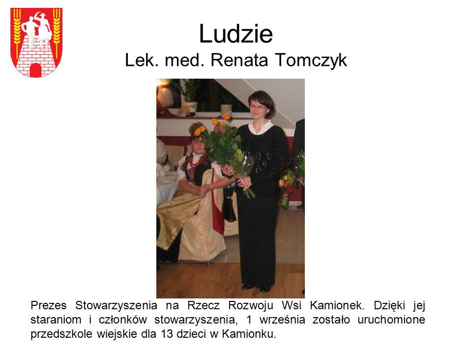 Ludzie Lek. med. Renata Tomczyk