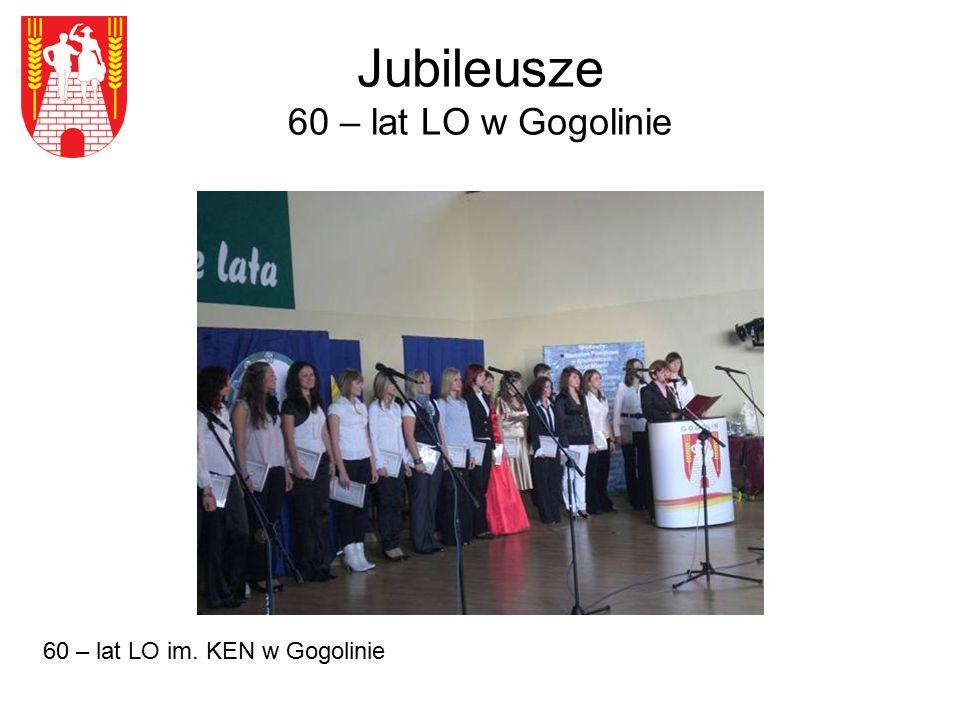 Jubileusze 60 – lat LO w Gogolinie