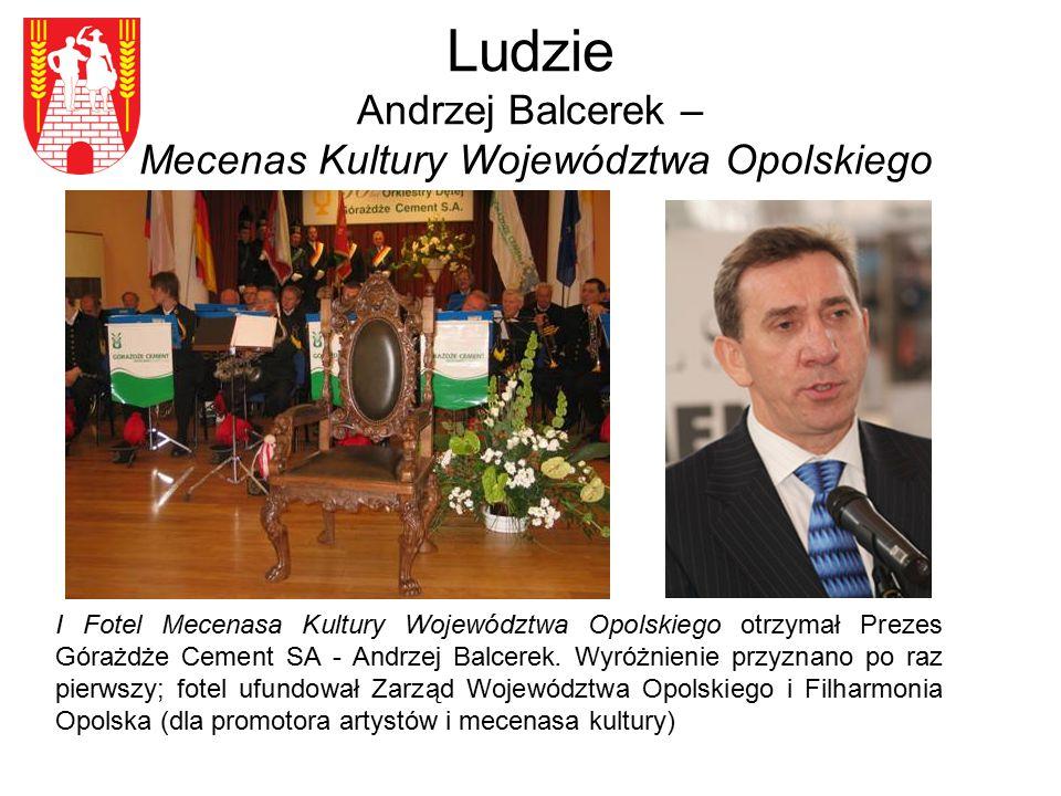 Ludzie Andrzej Balcerek – Mecenas Kultury Województwa Opolskiego