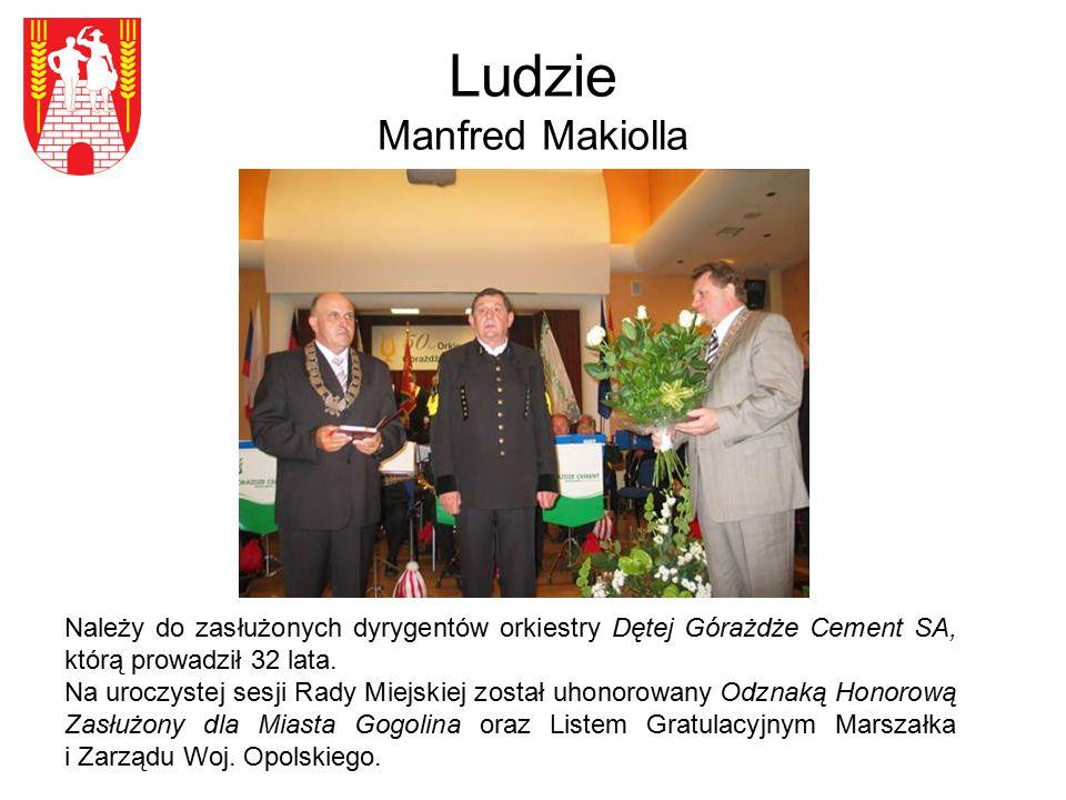 Ludzie Manfred Makiolla
