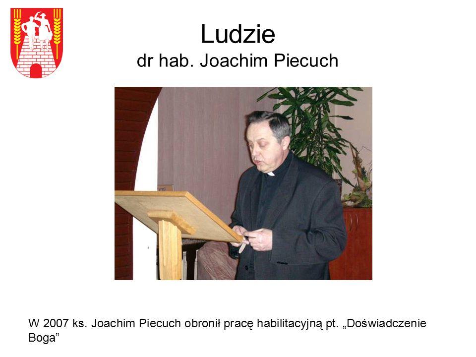 Ludzie dr hab. Joachim Piecuch