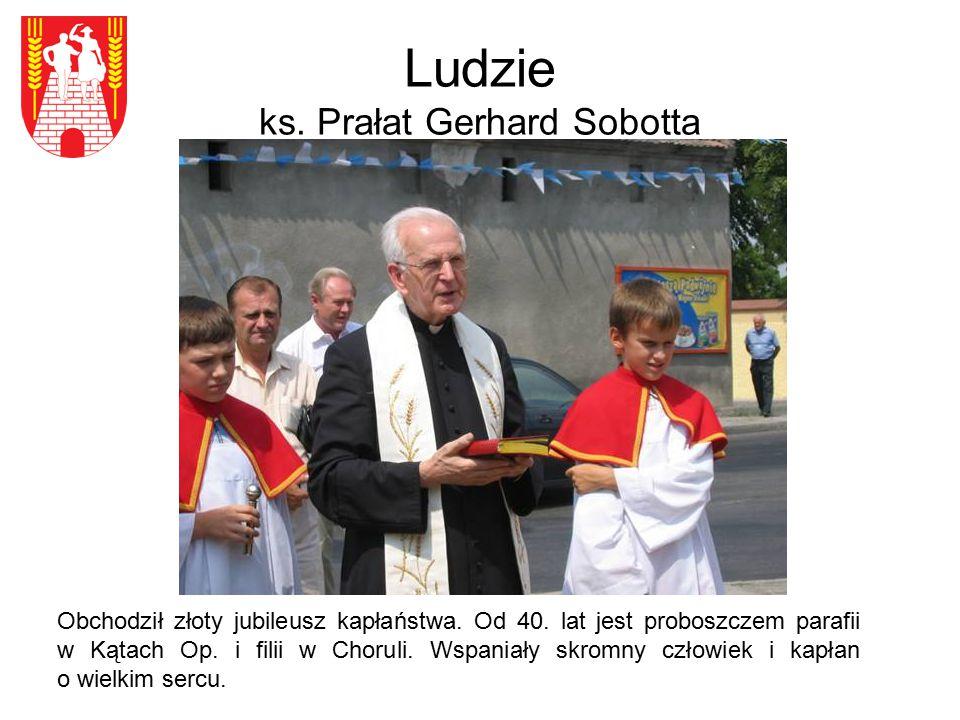 Ludzie ks. Prałat Gerhard Sobotta