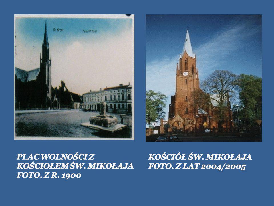 PLAC WOLNOŚCI Z KOŚCIOŁEM ŚW. MIKOŁAJA FOTO. Z R. 1900