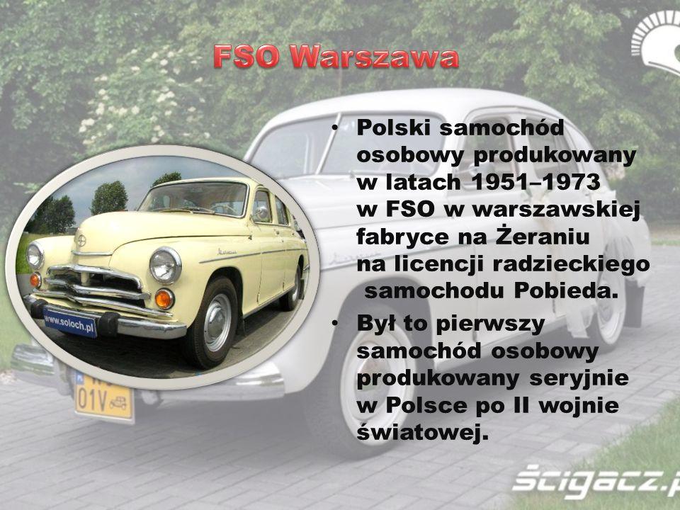 FSO Warszawa