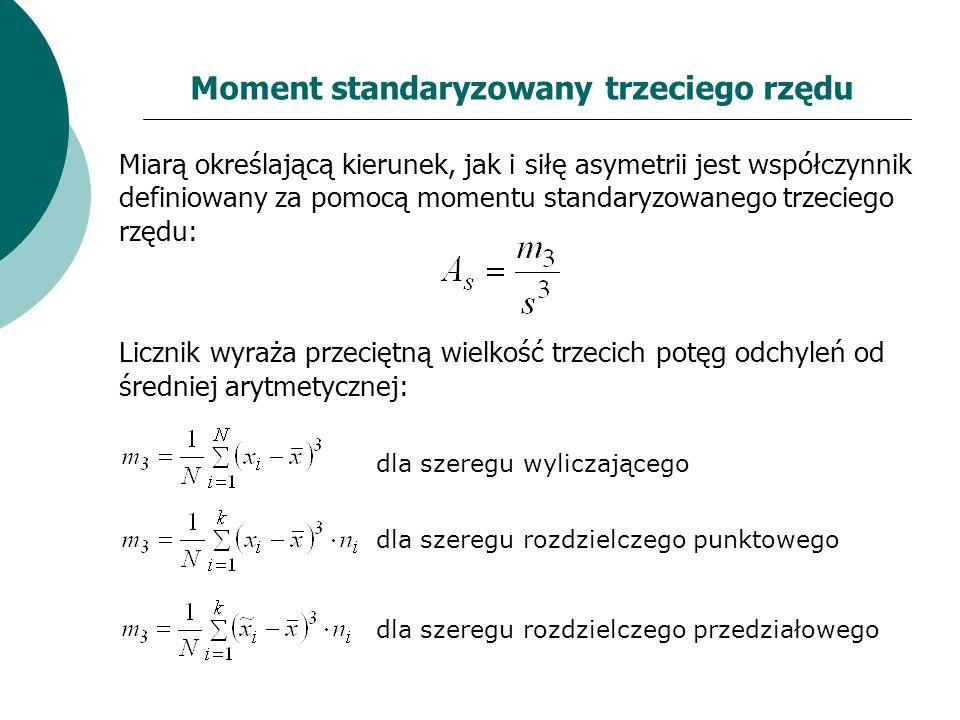 Moment standaryzowany trzeciego rzędu