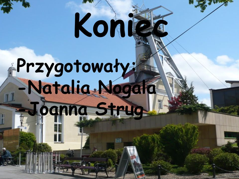 Koniec Przygotowały: -Natalia Nogala -Joanna Strug